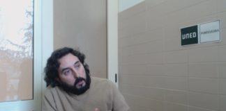 Conversa na UNED-Pontevedra con Rafael Quintía Pereira, Licenciado en Antropoloxía Social e Cultural. Escritor e Documentalista