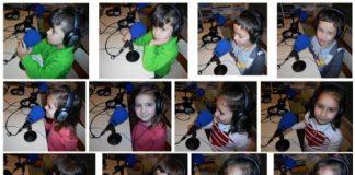 A Escola unitaria de Lago, do CRA Esquío de Valdoviño colaborou co programa de radio Dálle que dálle nas Ondas desde a Radio Filispim